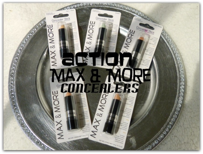 Action Max & More Budget Concealers