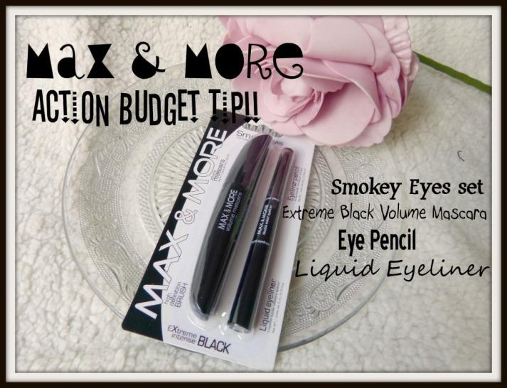 Action Max & More Budget tip! Smokey eyes setje