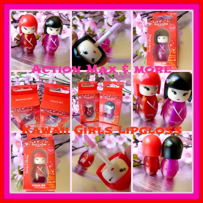 Action Max & More Kawaii Girls Lipgloss