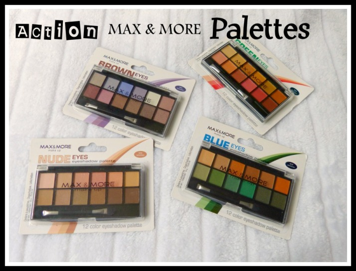 Action Max & More Palettes