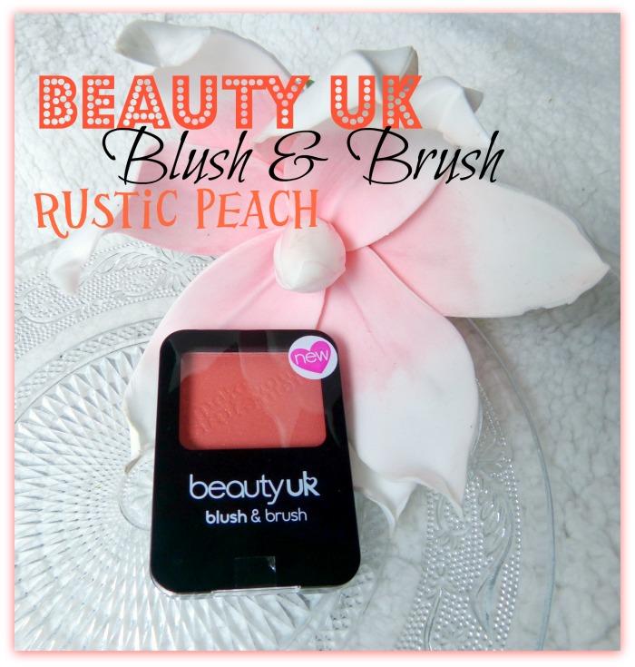 Beauty Uk Blush & Brush Rustic Peach