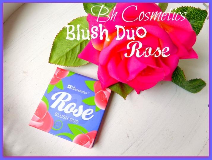 Bh cosmetics blush duo rose