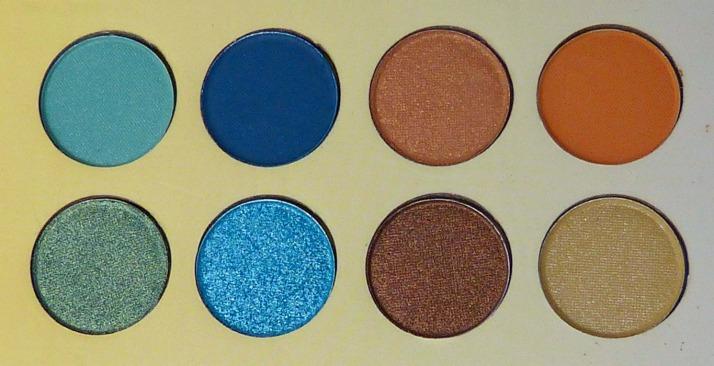 Bh cosmetics Malibu palette oogschaduw rechterkant