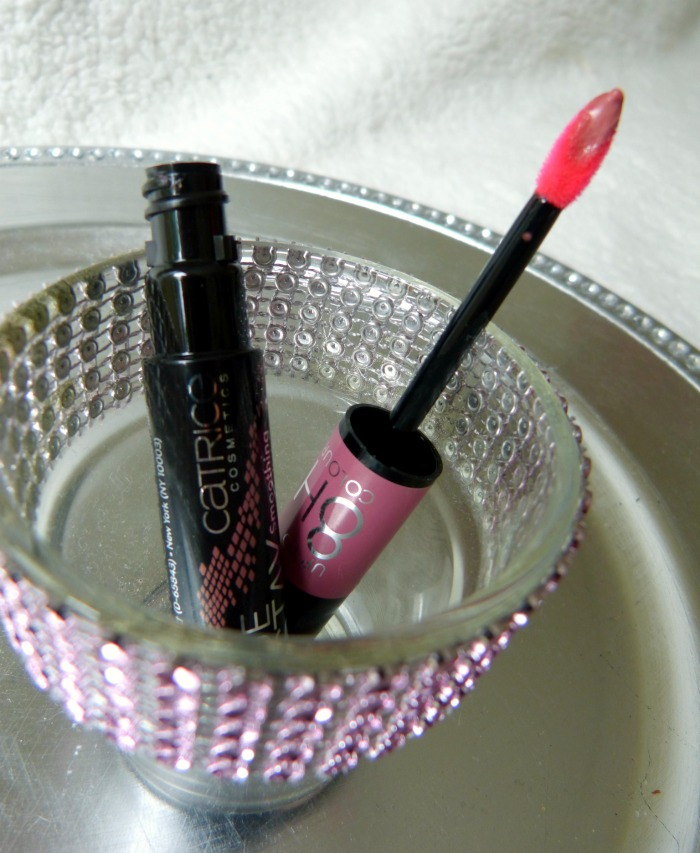 Catrice lip polish rose wood if she could