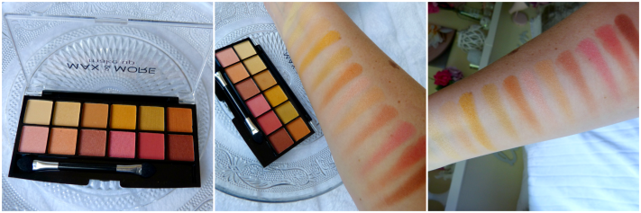 Green eyes palette swatches action Max & More