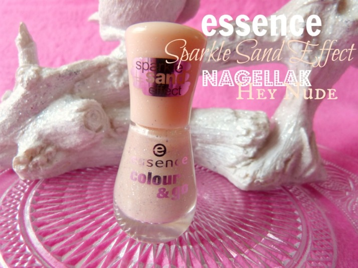 Hey Nude sparkle sand effect nagellak essence