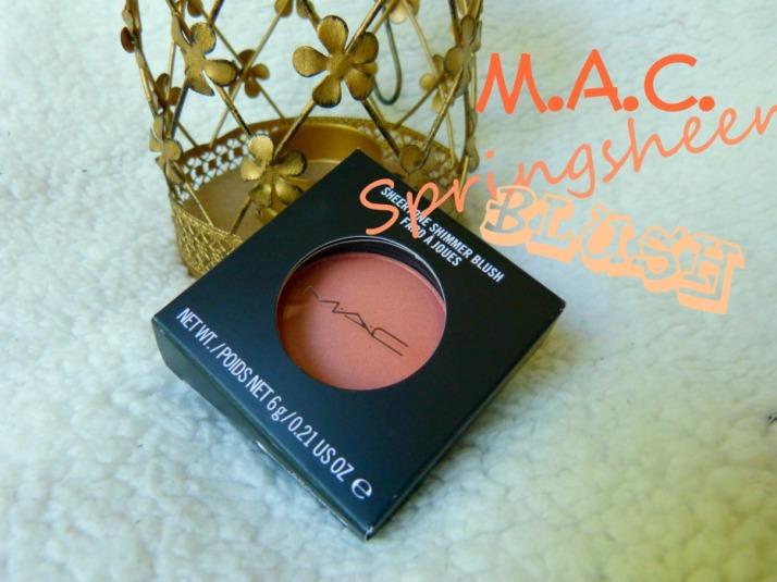 M.A.C. Sprinsheen Blush MAC