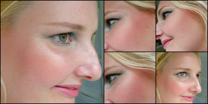 Mac Springsheen sheertone shimmer blush look