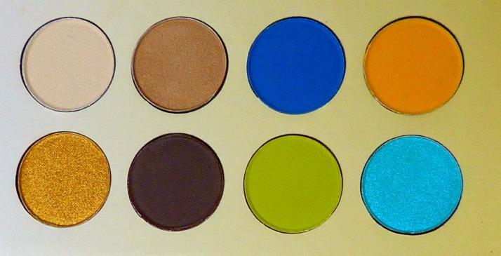 Malibu palette bh cosmetics oogschaduw linkerkant