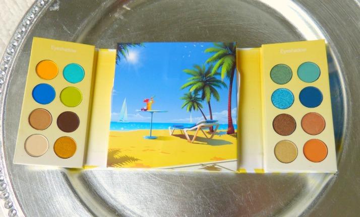 Malibu Palette van Bh cosmetics
