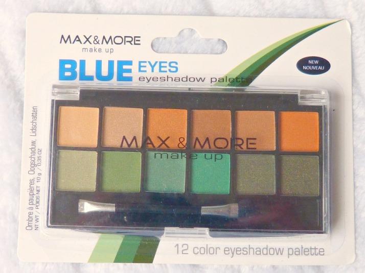 Max & More Blue eys palette action