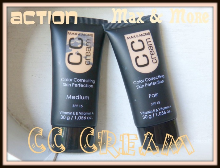 Max & More CC Cream Action