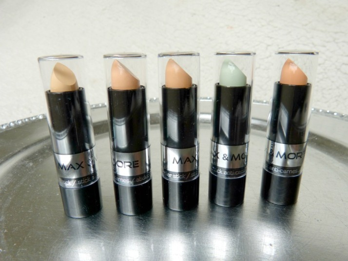 Max & More Concealers  Action Budget