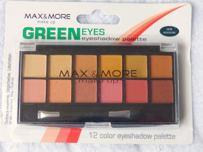 Max & More Green eyes palette Action Budget