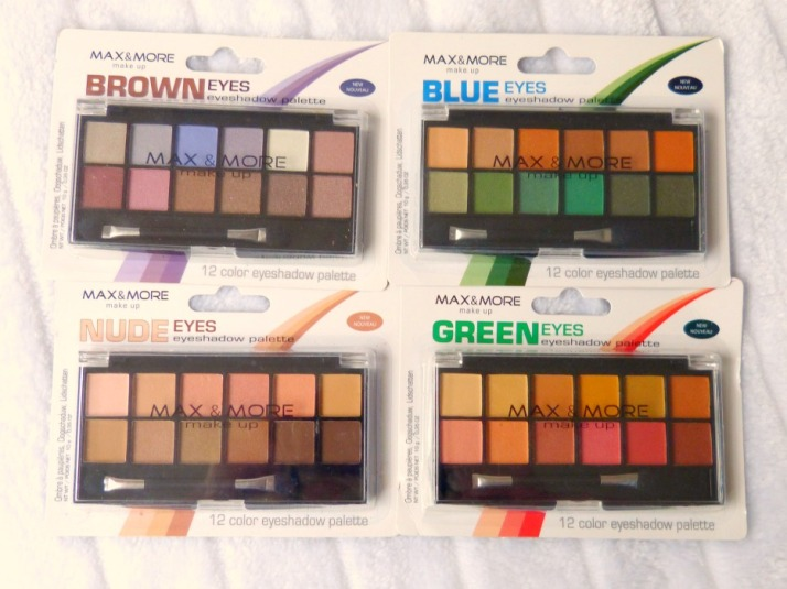 Max & More Palettes Budget Action