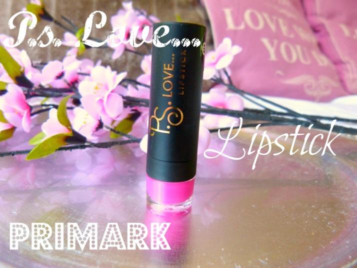 Primark p.s. love... Lippenstift