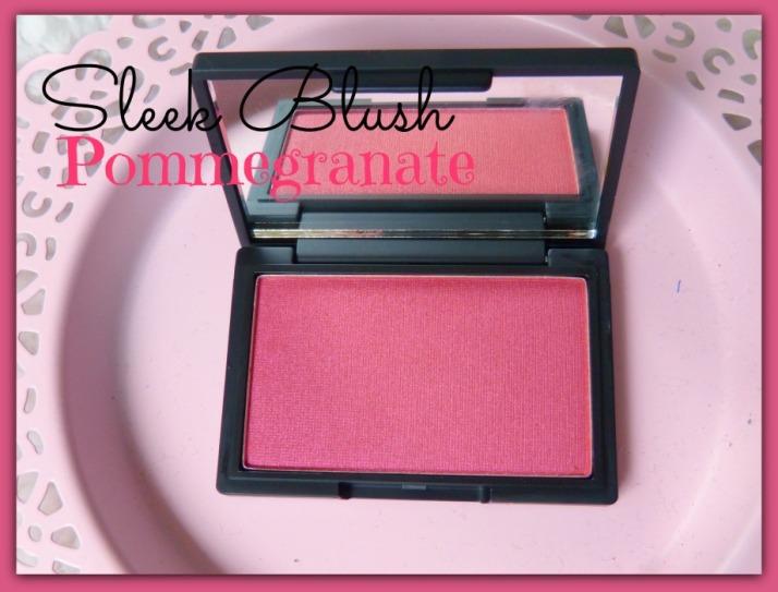 Sleek Blush pommegranate
