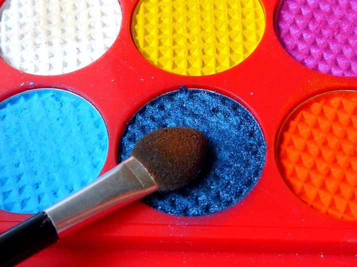 Sleek circus palette donker blauw
