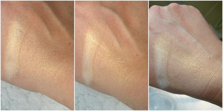 swatches highlighter Nars Albatros
