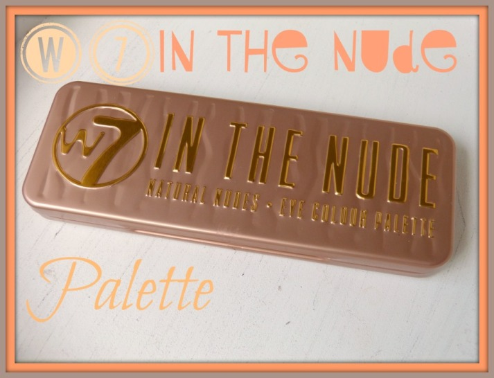 W7 in the nude palette