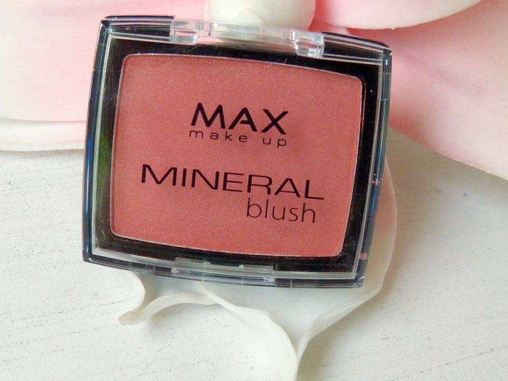 Action Budget tip Max makeup mineral blush rosewood