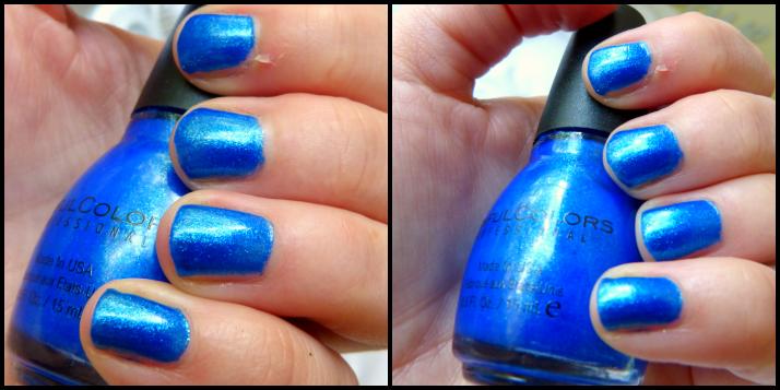 blue by you sinful colors kruidvat nagellak