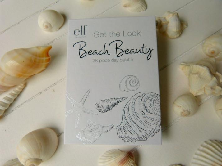e.l.f. get the look beach beauty 28 piece palette
