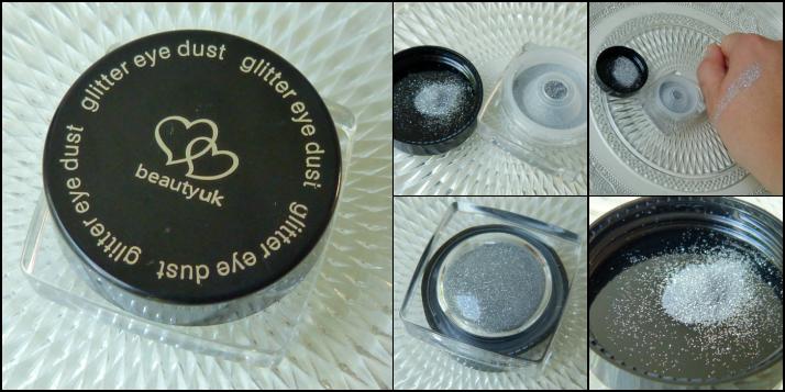 Glitter eye dust silver beauty uk via cosby.nl...
