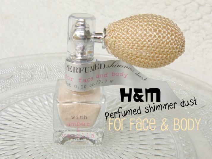 H&M glanzende parfum poeder...