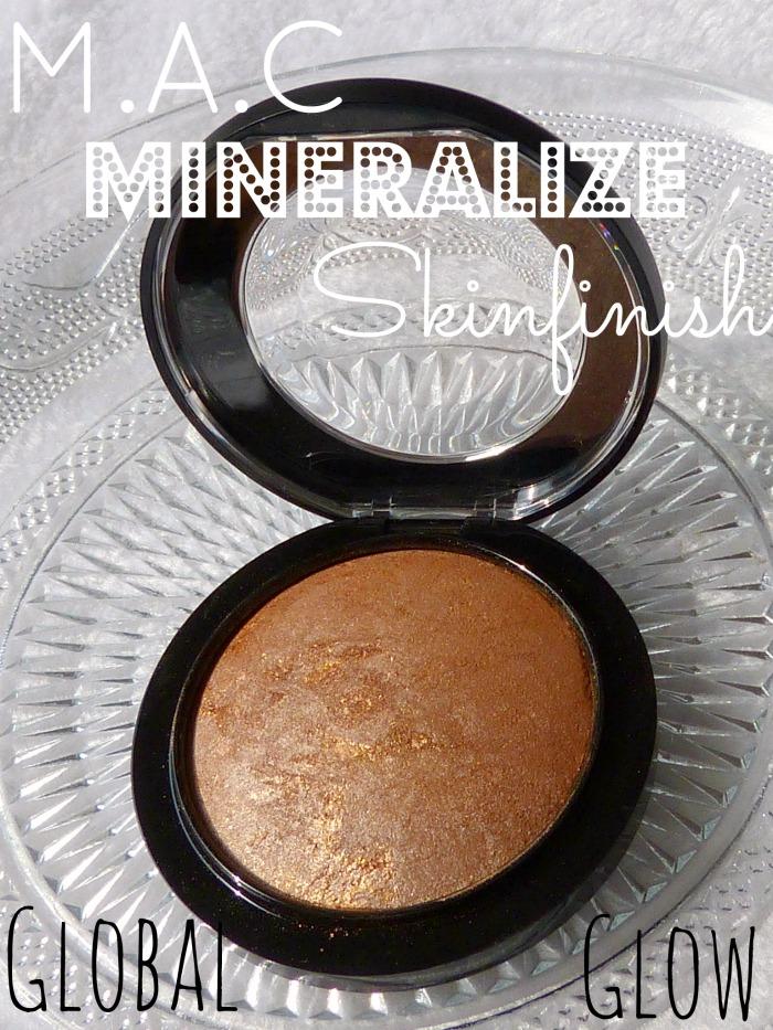 Mac mineralize skinfinish glowbal glow