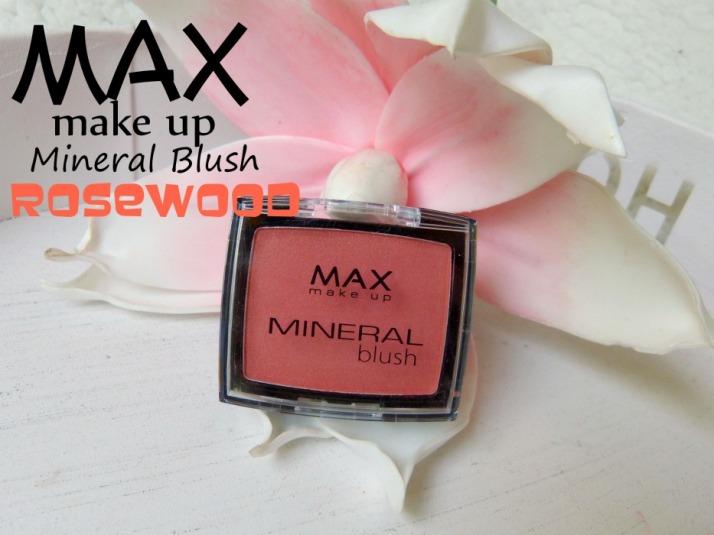 Max Make-up Mineral Blush Rosewood