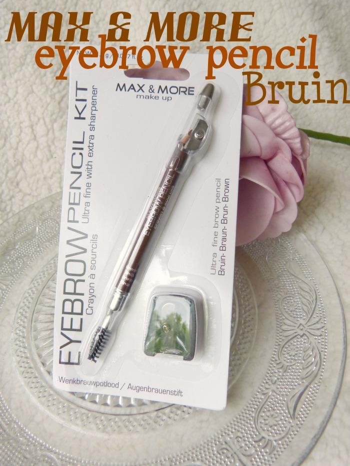 Max & More eyebrow pencil Bruin Action