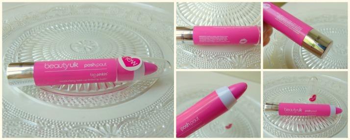 Posh Pout tinted lip balm Beauty Uk via Cosby.nl