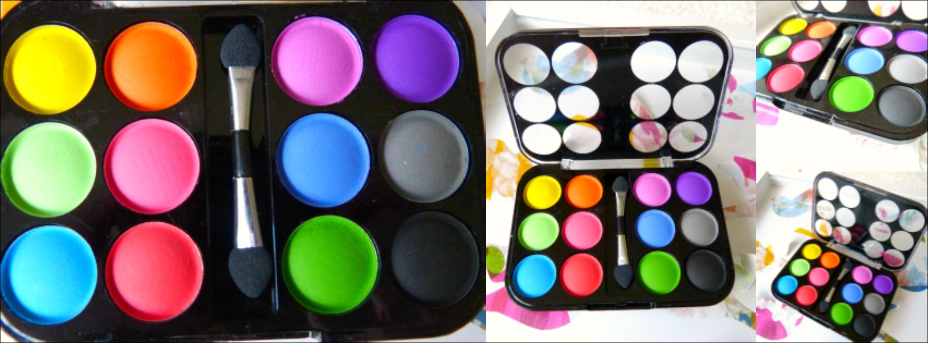 Brasil wk 2014 look met saffron 12 colours matte eye shadow van de big bazar mywickedweirdlife - Wat zijn de warme kleuren ...