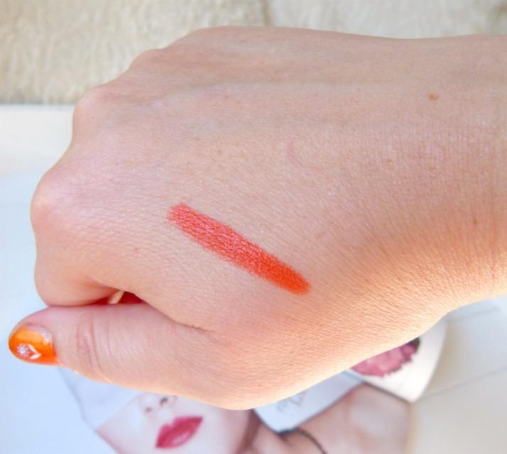 swatches lookx caribana lip & blush stick