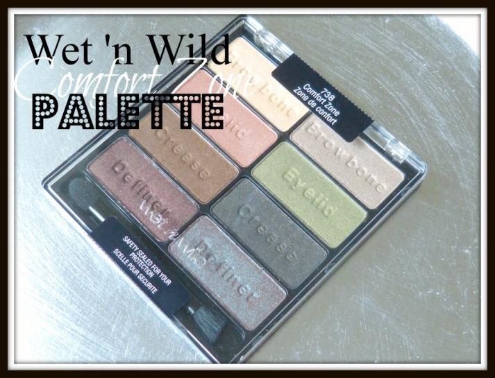 Wet 'n Wild Comfort Zone palette
