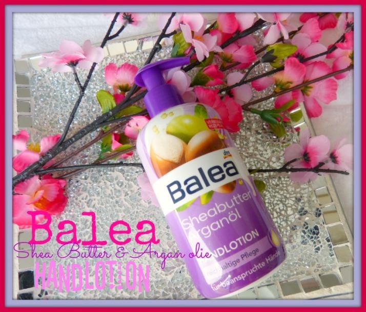 Balea Sheabutter & Argan olie Handlotion