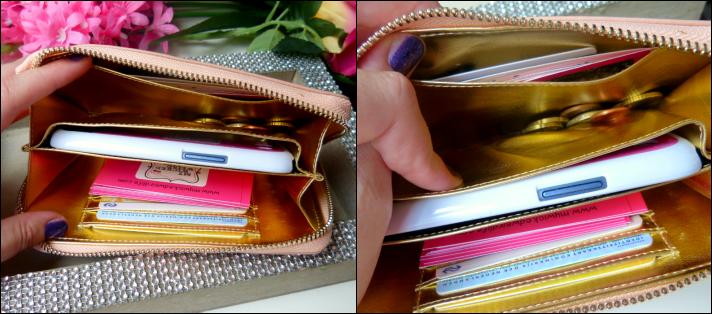 binnen in de smartphone wallet van Fab