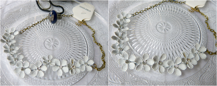 Camellia flower ketting born pretty store, statement ketting