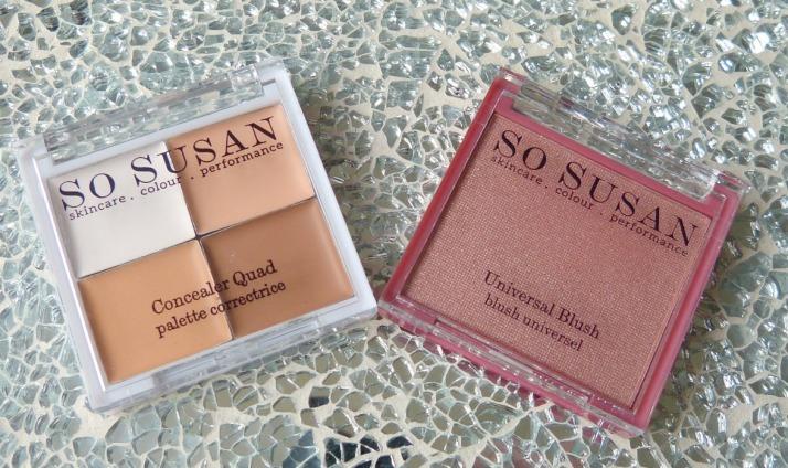 Concealer Quad & Universal Blush So Susan