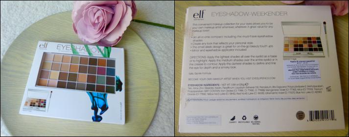 elf 32 eyeshadow's Palette Natural