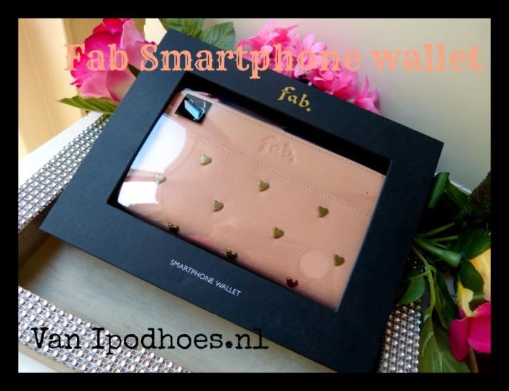 Fab Smartphone wallet van ipodhoes.nl