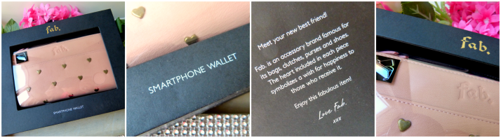 Fab smartphone wallet