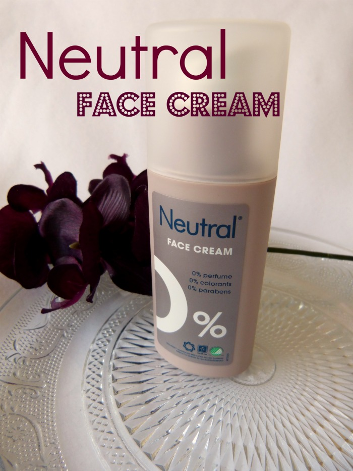 Neutral Face cream
