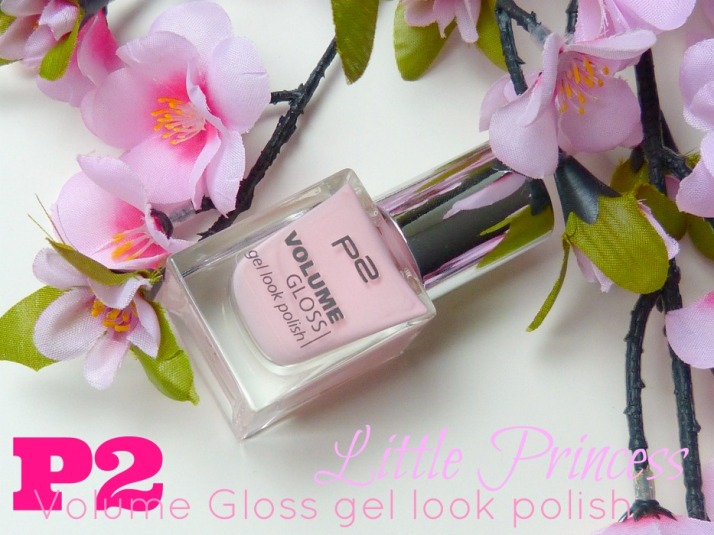 P2 Volume Gloss Gel look Polish Little princess