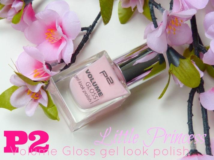 P2 Volume Gloss Gel look Polish Little princess