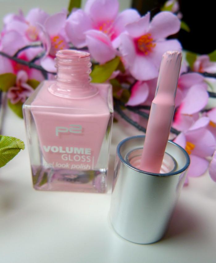 P2 Volume Gloss gel look polish nagellak little princess van P2