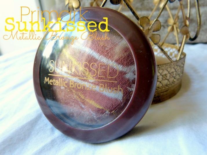 Primark Sunkissed Metallic Bronze Blush
