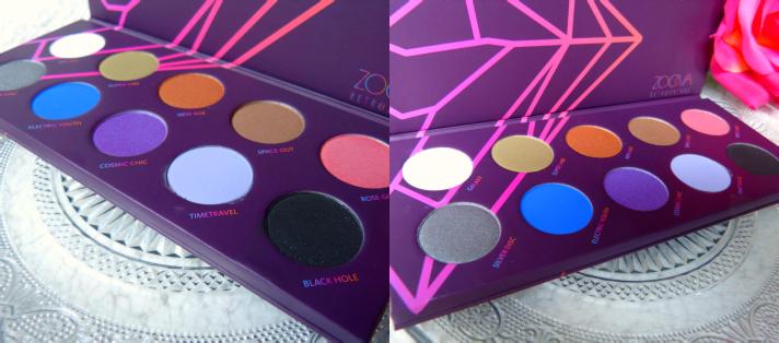Retro Future oogschaduw palette Zoeva