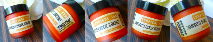 Smooth body creme tropical sun soulmade cosmetics